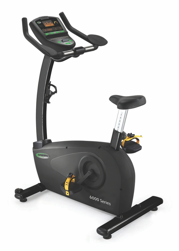 Green Series 6000 Light Commercial Upright Bike