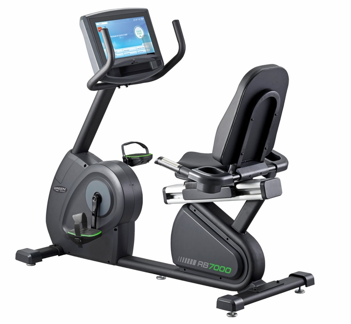 Green Series 7000E-G1  Commercial Recumbent Bike W/TV