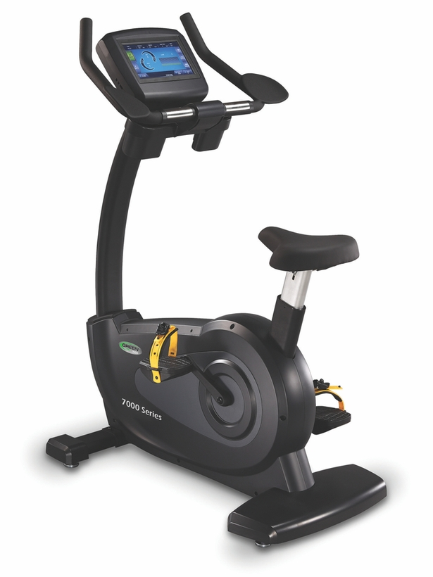 Green Series 7000E Commercial Upright Bike W/TV