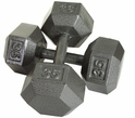 Hex Dumbbells 5-50lb. Set