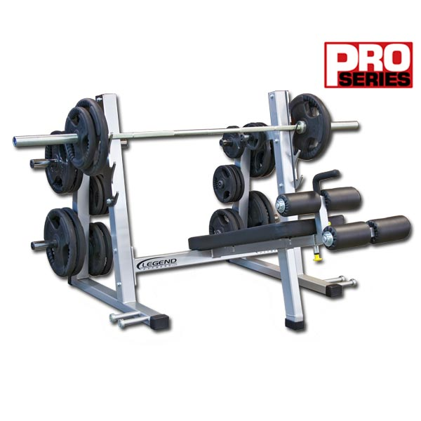 Legend Fitness Pro Series Olympic Decline Bench 3243