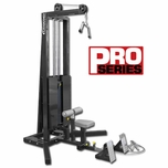 Legend Pro Series Seated Lat/Floor Row #3228