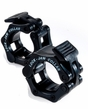 "Lock Jaw 2"" Olympic Barbell Collars - Black"