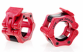 "Lock Jaw 2"" Olympic Barbell Collars - Red"
