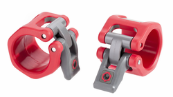 "Lock Jaw Hex 2"" Olympic Collars - Red"