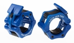 "Lock Jaw Pro 2"" Olympic Locking Collars - Blue"