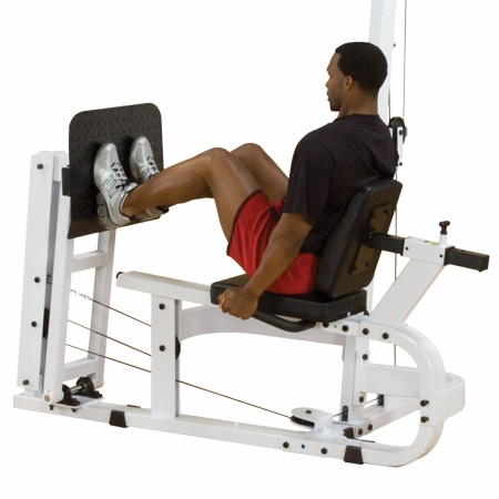 Optional Leg Press / Calf Station (Shown)