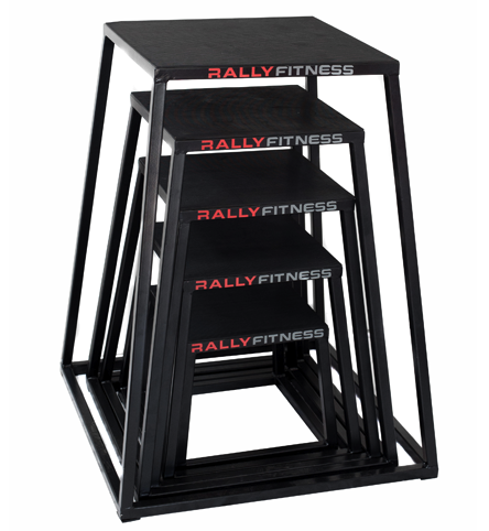 Rally Fitness Plyo Box Starter Set