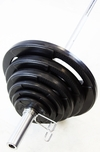Rubber Encased Grip Olympic Weight Plate Sets