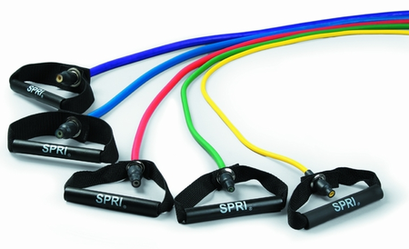 Spri Xertube Resistance Band - Light (Green)