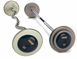 Troy Gray Barbell Sets W/ Black  End Caps