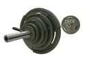 Troy Interlocking Grip Olympic Weight Sets