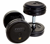 Troy Rubber  Pro Style Dumbbell Sets