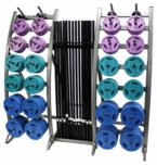 Troy TLS-PAC-C Colored Barbell Training System