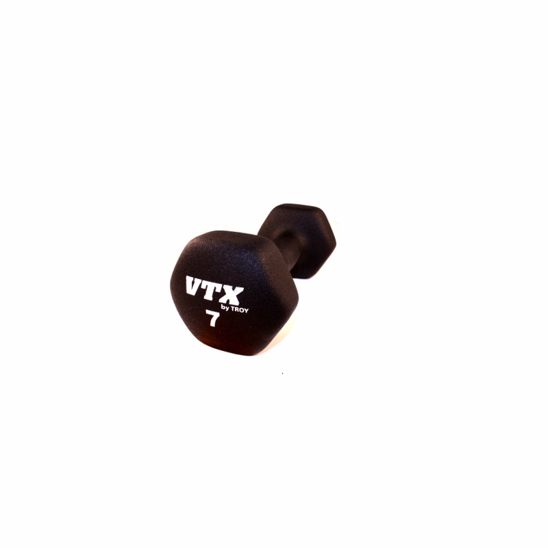 Troy Vtx Neoprene Dumbbells 1lb 15lb Set