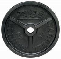 Troy Wide Flanged Black Olympic Weight Sets