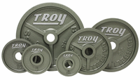 Troy Wide Flanged Olympic Weight Set - 255lbs