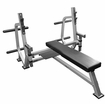 Valor Fitness BF-49 Olympic Bench W/Plate Storage