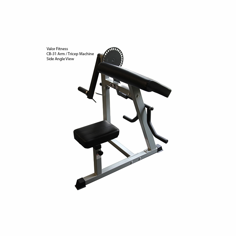 bicep and tricep machine
