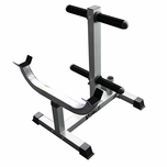 Valor Fitness CB-7 Curl Station Stand W/Plate Storage