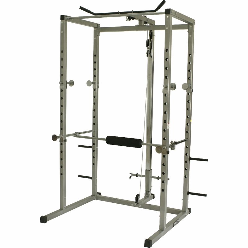 Valor Fitness Bd 7 Power Rack W Lat Machine