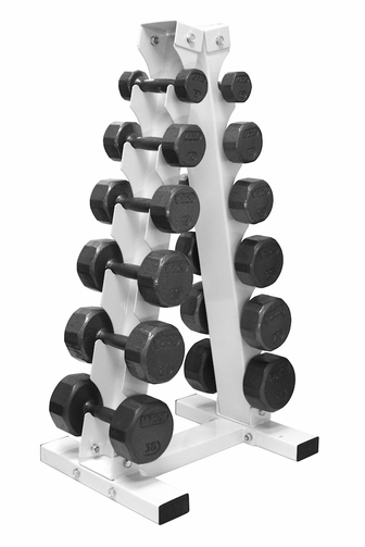VTX 5lb - 30lb Dumbbells W/ Vertical Dumbbell Rack