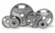 VTX Grip Olympic Weight Plate Set - 455lbs