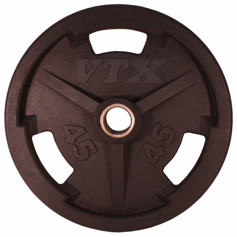 Troy Weight Tree: VTX Rubber Olympic Weight Plate Set