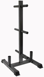 VTX Vertical Bumper Plate & Bar Rack
