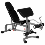 XMark XM-4419 FID Weight Bench W/Leg and Preacher Attachment