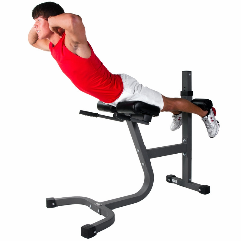 Xmark Xm 7456 Hyperextension Bench
