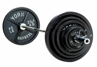 "York 2"" International Olympic Weight Set"