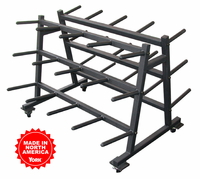 York Aerobic Weight Set Rack