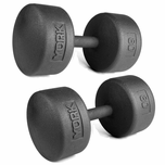 York Legacy Solid Round Professional Dumbbell Sets