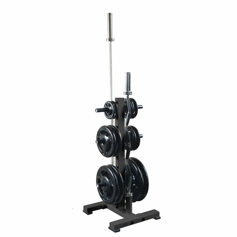 Troy Weight Tree: York Olympic Plate Tree W/Bar Holder