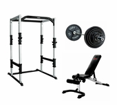 York Power Rack Gym Package