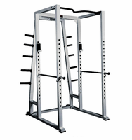 York Power Rack With Weight Storage