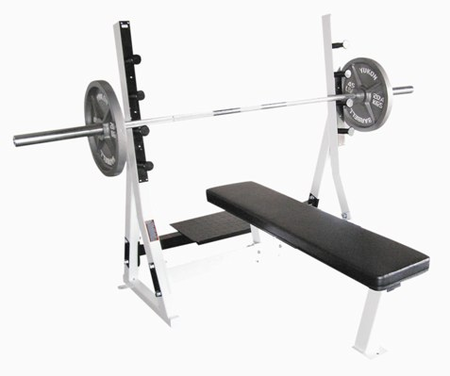 Yukon Commercial Flat Olympic Weight Bench