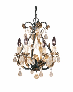 1-4006-4-16 Savoy House Lighting 4 Light Mini Chandelier