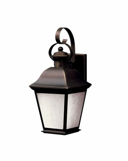 10908OZ Kichler Traditional Mount Vernon Outdoor Wall 1Lt Fluorescent (olde bronze) Package of 1