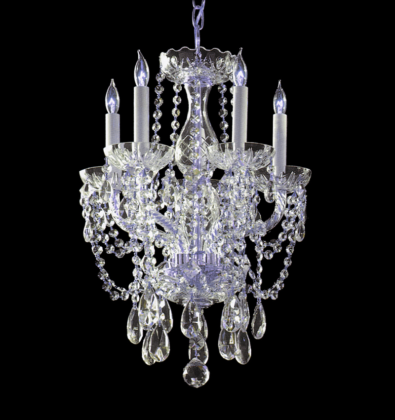 Crystal Chandelier Vs Glass: 1129-CH-CL-S Crystorama Traditional Crystal Polished