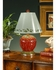 14110 Wildwood Lamps Mount Vernon Strawberry Lamp with Hand Painted Ceramic with Wood