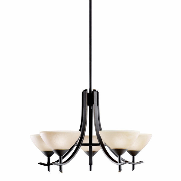 1679oz Kichler Olympia 5lt Chandelier 1 Tier Medium