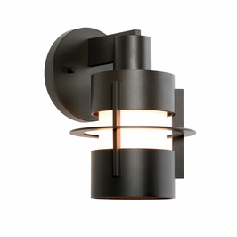 1700.32F Sonneman Architectural Aereo Sconce in Black Bronze Finish
