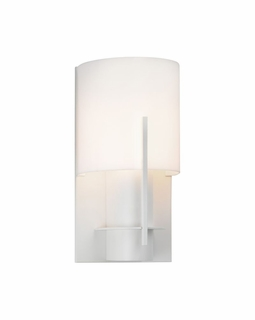 1710.03AF Sonneman Architectural Oberon Sconce in Satin White Finish