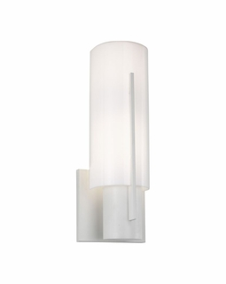 1711.03AF Sonneman Architectural Oberon Slim Sconce in Satin White Finish