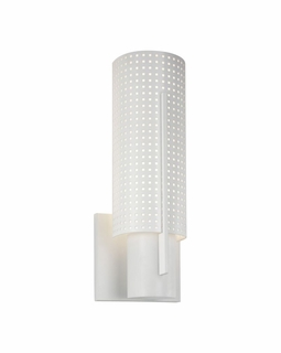 1711.03MF Sonneman Architectural Oberon Slim Sconce in Satin White Finish