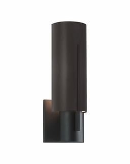 1711.32LF Sonneman Architectural Oberon Slim Sconce in Black Bronze Finish