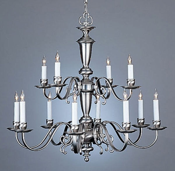 2742 8 4 Holtkotter Lighting Flemish Twelve Light Chandelier
