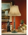 4109 Wildwood Lamps Marble and Brass Lamp